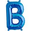 Letras Metálicas Azul de 40 cm