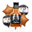 Bouquet Botella Whisky Old