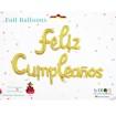 Letras Feliz cumpleaños  Dorado Corrido
